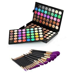 Homyl 120 Colors Cosmetic Powder Eyeshadow Palette Matte and