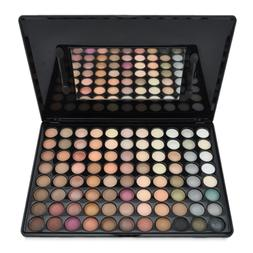 pro 88 colors shimmer and matte eyeshadow