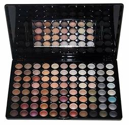 professional 88 metal shimmer color eyeshadow palette