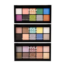 NYX Professional Avant Pop 10 Color Palette Eye Shadow Color