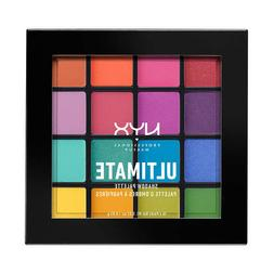 NYX PROFESSIONAL MAKEUP Brights Ultimate Shadow Palette Rain