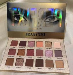 BEAUTY GLAZED rose gold textured EyeShadow Palette 18 Eye Sh