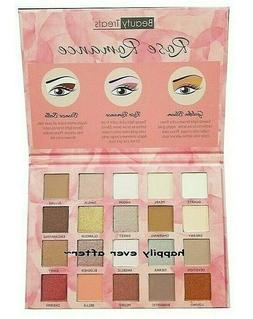 Beauty Treats Rose Romance Eyeshadow Palettes - 20 Shimmery