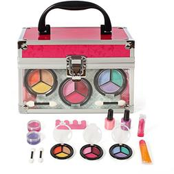 Girls Cosmetic Makeup Set In a Sturdy and Long Lasting clear