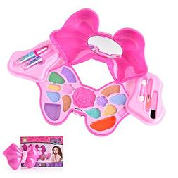 Play Makeup Set for Little Girls Non-toxic Washable Cosmetic