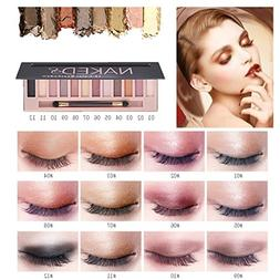 HP95 12 Colors Shimmer Matte Eyeshadow Palette Cosmetic Make