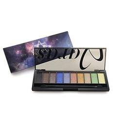 QINF Professional 10 Color Sky with Star Full Shimmer Eyesha