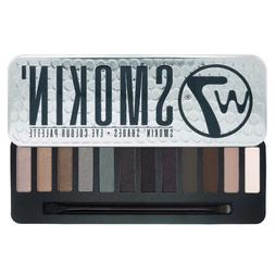W7  Smokin' Shades Eye Colour Palette - 12-Piece