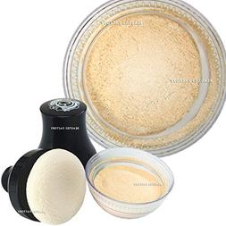 Beauties Factory Make up Smooth Glitter Body Powder with Puf