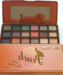 Too Faced Sweet Peach Eyeshadow Palette Cosmetic Makeup 18 S