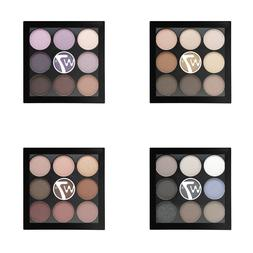W7 The Naughty Nine Eyeshadow Palette 9pcs - Nude, Pink, Pur