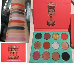 The Saharan Eyeshadow Palette by Juvia's Place Ultra Pigment