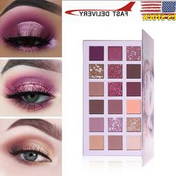 18 Colors Twilight Shimmer and Matte Rose Gold Textured Eyes