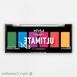 NYX ULTIMATE EDIT Petite Eyeshadow Palette USPP02 BRIGHTS