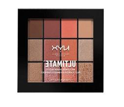 NYX ULTIMATE MULTI FINISH SHADOW PALETTE - WARM RUST  + FREE