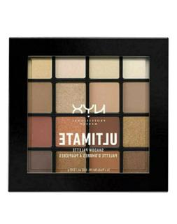 NYX Ultimate Shadow Palette Eye - USP03 - Warm Neutrals Brow
