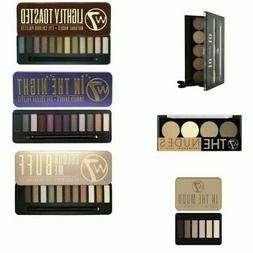 W7 Eyeshadow Eye Shadow Palettes - In the Buff, Nude, Toaste