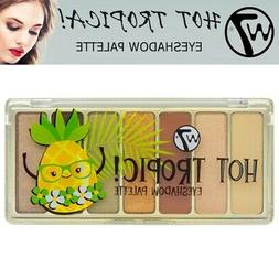 W7 Hot Tropic Eye Shadow Palette Matte Shimmer Summer Holida