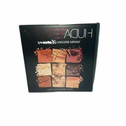 Huda Beauty Warm Brown Obsessions Eye Shadow Palette