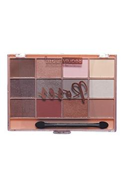 Womens Roses Shimmering Matte Eyeshadow With Brush Palette 4