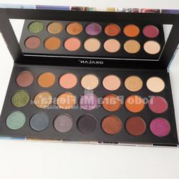 Okalan Wonderful Journey Eyeshadow Palette High Pigment Warm
